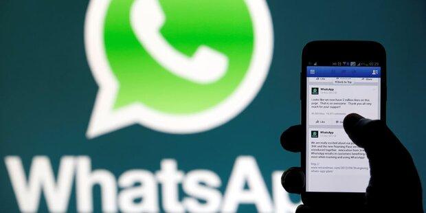 Auf diesen Handys funktioniert WhatsApp ab sofort nicht mehr