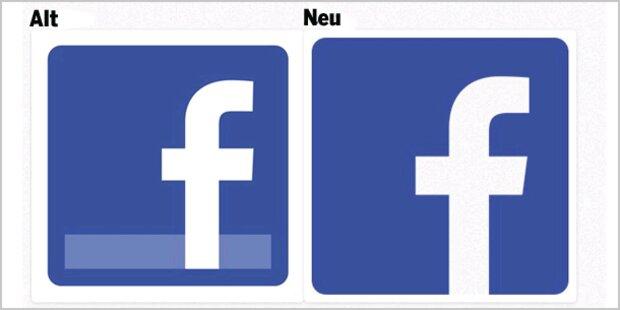Facebook gönnt sich ein neues Logo