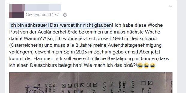 Amt: Mühlviertlerin soll Deutsch-Kurs belegen