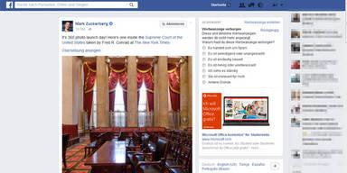 Facebook startet 360-Grad-Fotos