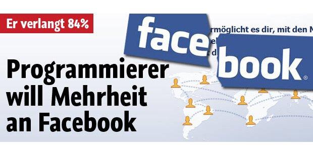 Programmierer klagt Facebook auf 84%