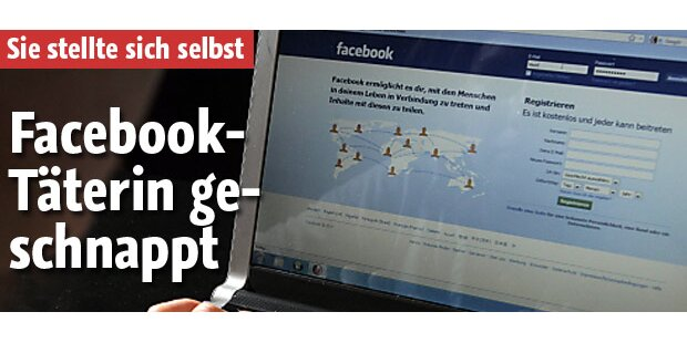 Facebook-Täterin geschnappt