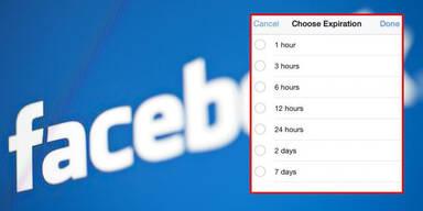 Facebook-Einträge mit Ablaufdatum