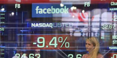 Facebook-Aktie ist erneut eingebrochen