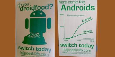 """Facebook startet """"Anti-iPhone-Kampagne"""""""