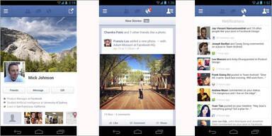 """Facebooks """"Super-App"""" jetzt auch für Android"""