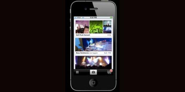 Facebook bringt neue Foto-App fürs iPhone