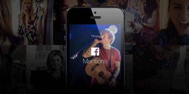 Facebook startet App für Promis
