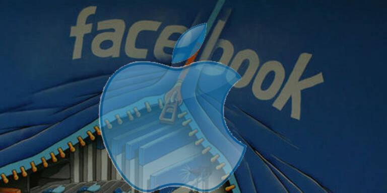 Apple will mit Facebook zusammenarbeiten