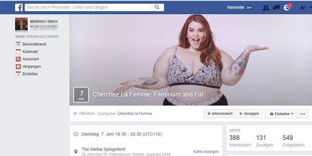 Facebook findet Bikini-Model zu dick