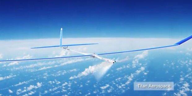 Facebook-Drohne fliegt zum ersten Mal