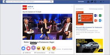 "Facebook erweitert seinen ""Like-Button"""