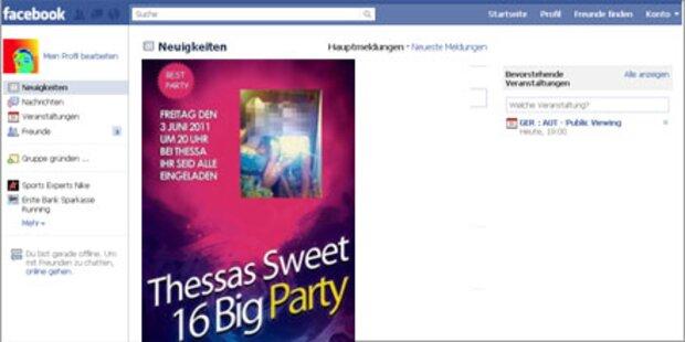 16.000 Gäste wegen Facebook-Fehler
