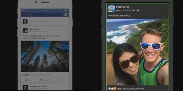 Facebook-Fotos nun auch für blinde User