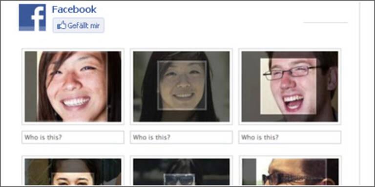 Facebook erkennt Gesichter/Fotos selbst