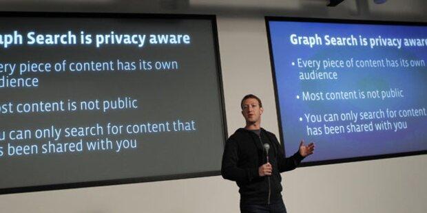 Datenschützer warnt vor neuer Facebook-Suche