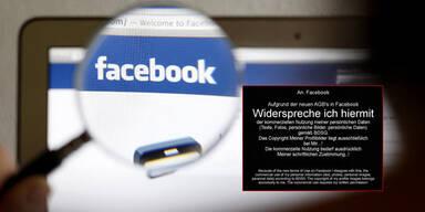 AGB-Widerspruch bei Facebook ist nur Fake