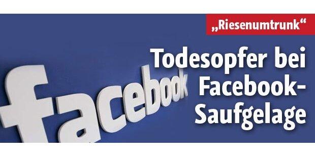 Facebook-Saufgelage forderte Todesopfer