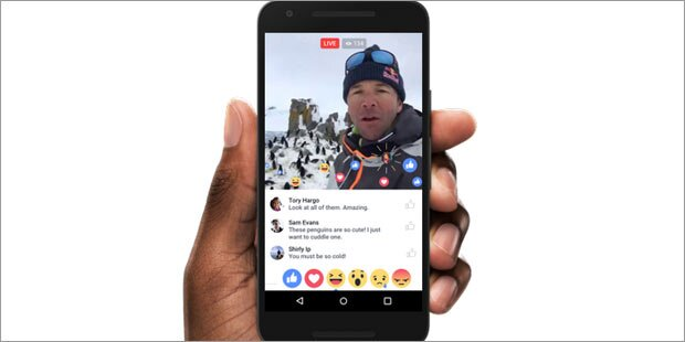 Facebook Live-Videos jetzt für alle