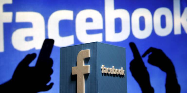 Hasspostings: Facebook angezeigt
