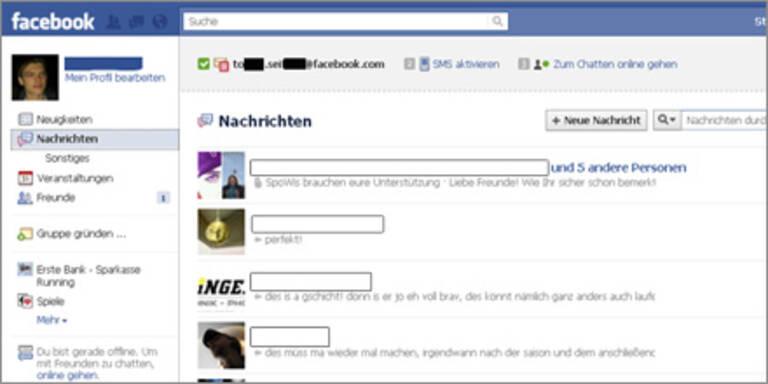 Facebook-Messaging in Österreich gestartet
