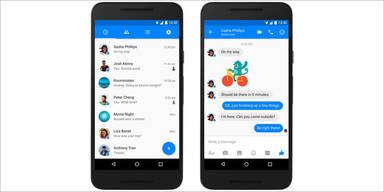 Facebook Messenger im völlig neuen Look
