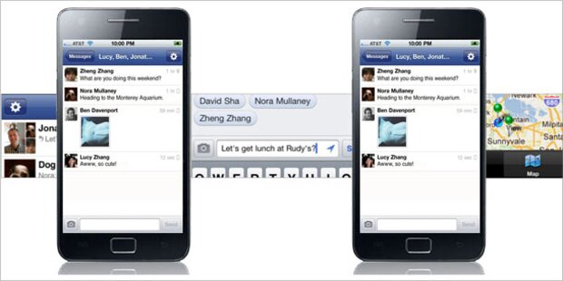Facebook startet eigene Messenger-App