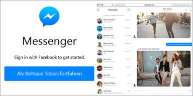 Facebook-Messenger für den Browser ist da