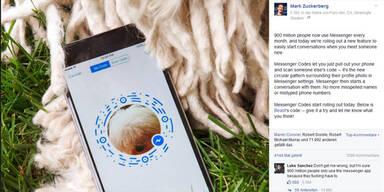 Facebook-Messenger: QR-Code für alle User