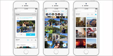 "Facebooks Foto-App ""Moments"" gestartet"