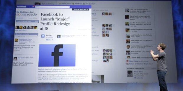 Facebook will jetzt Teil unseres Lebens werden