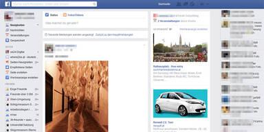Facebook baut seinen Newsfeed um