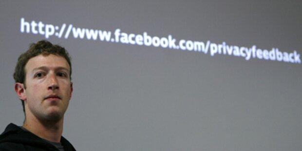 Facebook verbessert Datenschutz