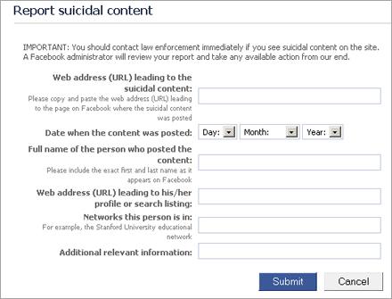 Neue Suizid Warnfunktion Für Facebook