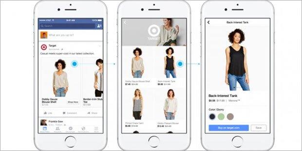 Jetzt kann man auf Facebook shoppen