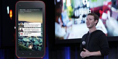 Facebook Home und HTC First starten