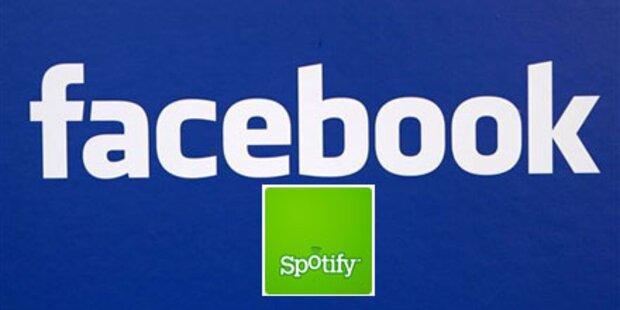 Facebook: Musikdienst für Nutzer geplant
