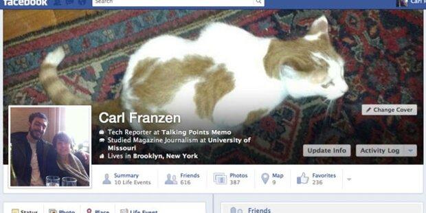 Facebook krempelt Timeline-Design um