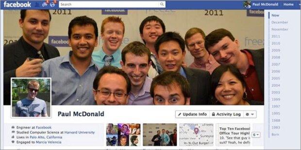 Facebook: Jetzt startet der Timeline-Zwang