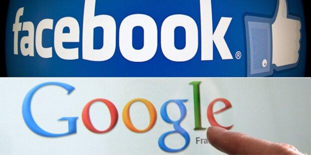 Milliarden-Kampf zwischen Facebook und Google