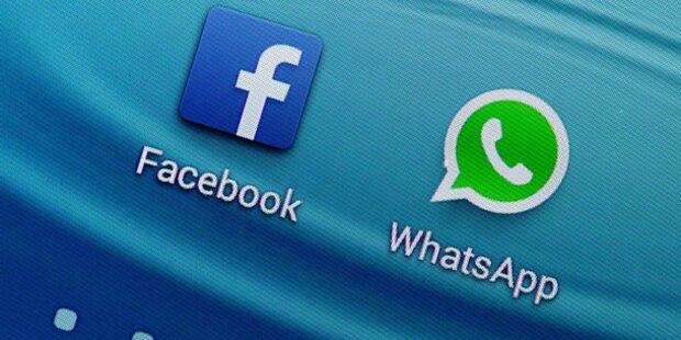 Facebook-/WhatsApp-Deal könnte scheitern
