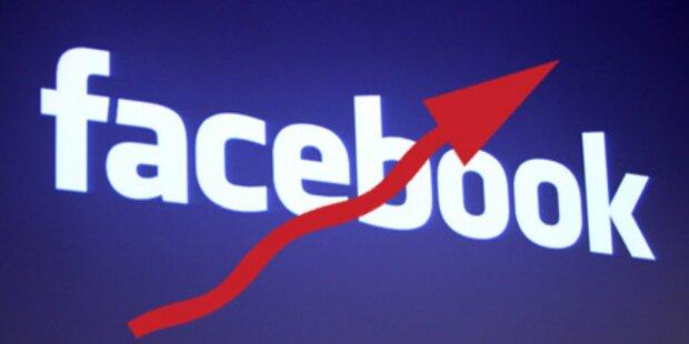 Über 2,1 Mio. heimische Facebook-User