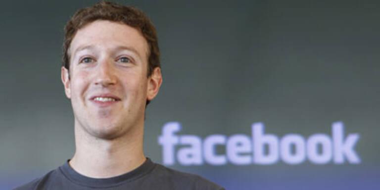 Mark Zuckerberg besitzt 18 Mrd. Dollar