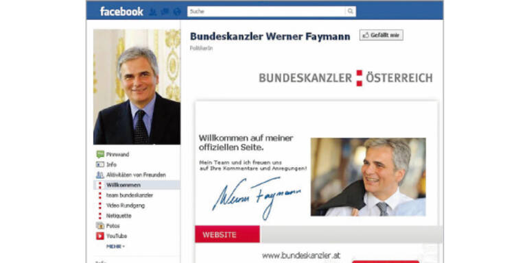 BZÖ-Anfrage zu Faymann  und Failmann