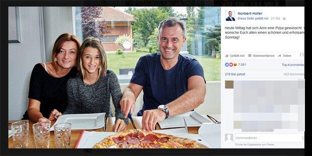 #pizzagate: Norbert Hofer legt nach