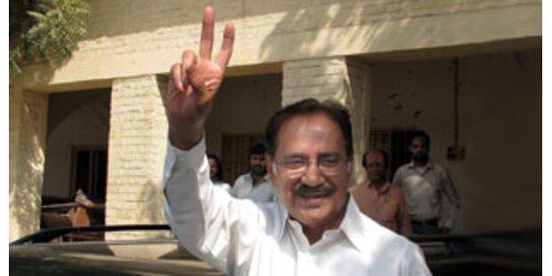 Fahim wird neuer Premierminister in Pakistan