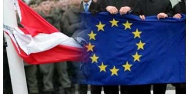 Weniger Arbeitskräfte aus neuen EU-Ländern
