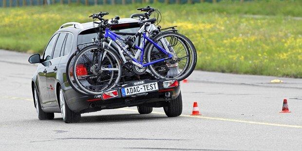 11 neue Fahrradträger im Test