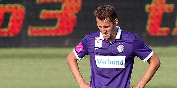 Austria nur 0:0 gegen Aufsteiger Altach