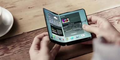 So kommt Samsungs faltbares Smartphone